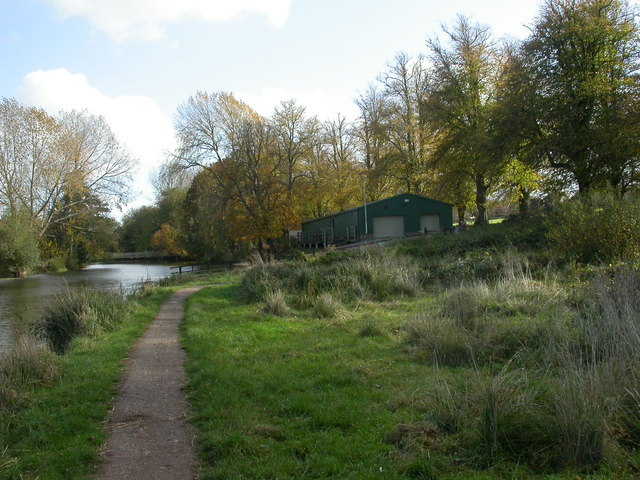 Canford Magna, boathouse - geograph.org.uk - 1553988