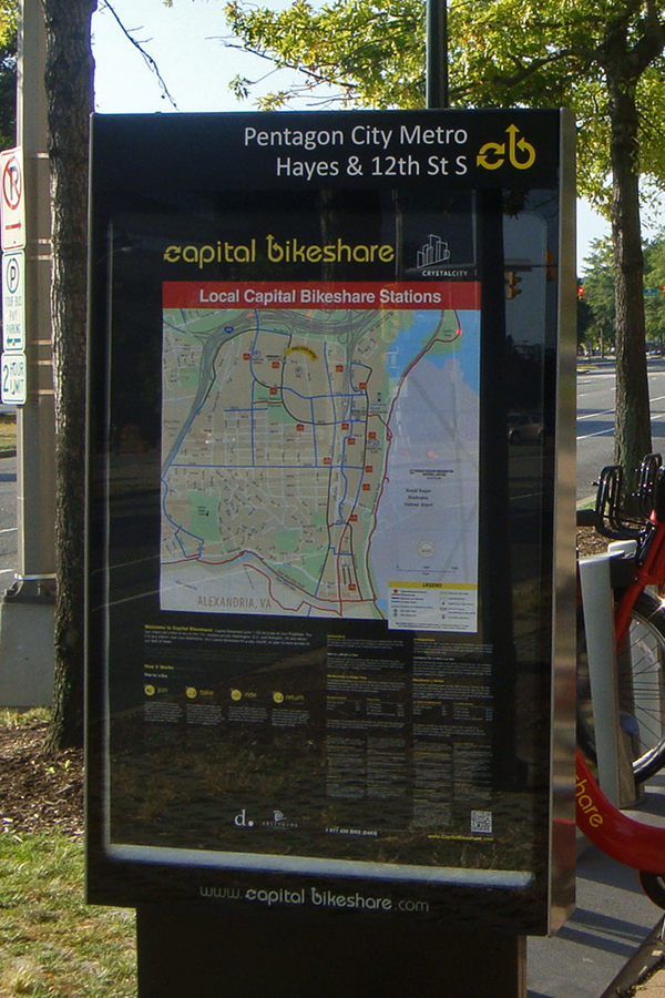 Dc Bike Share Map on
