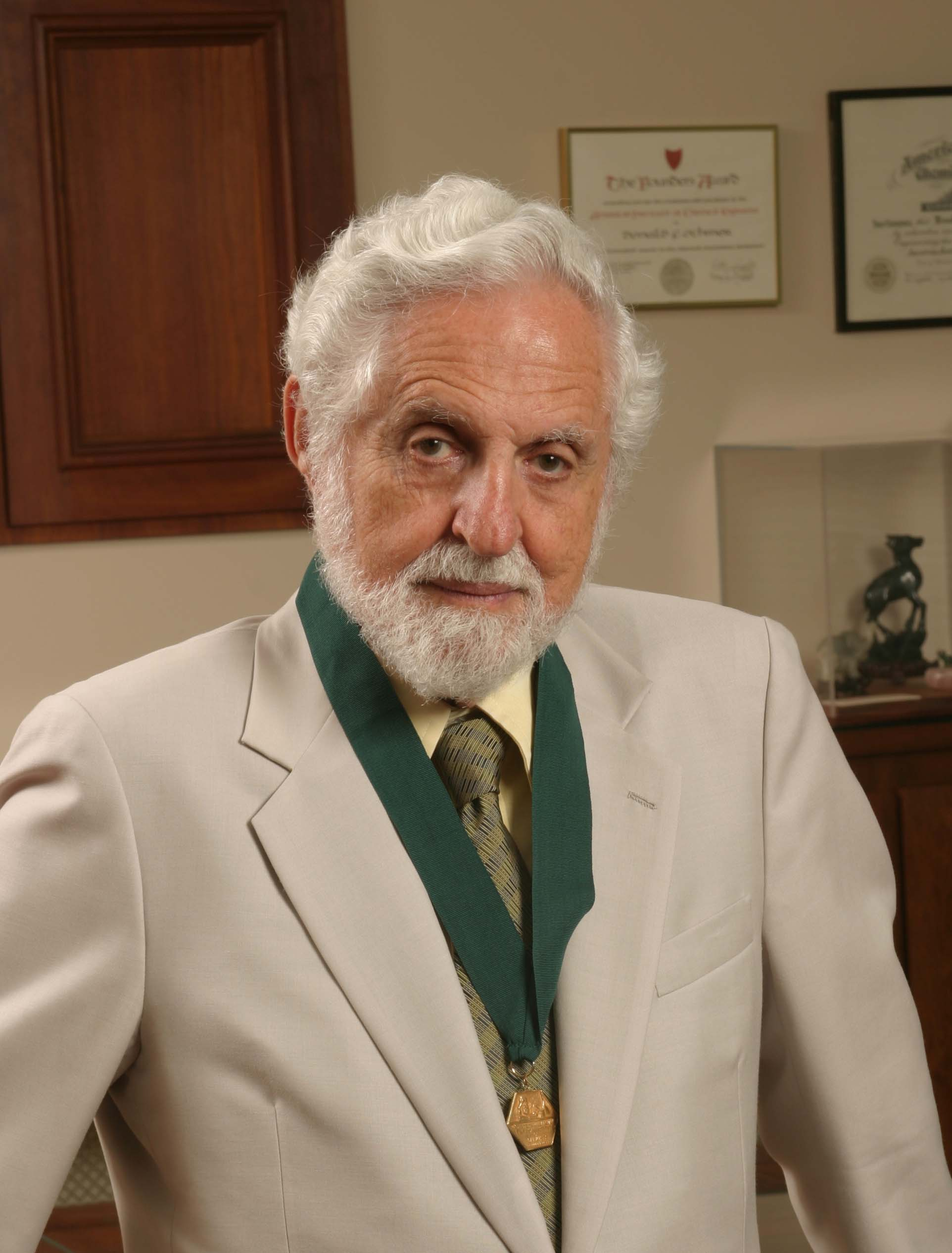 Carl Djerassi in 2004