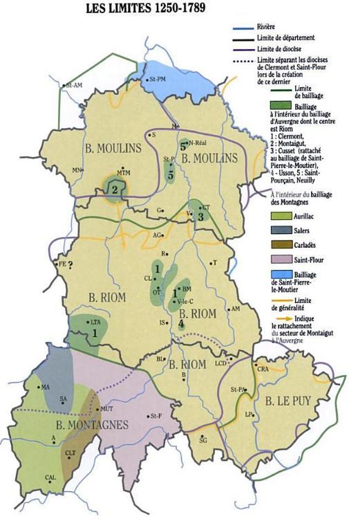 carte de l auvergne File:Carte Auvergne historique.   Wikipedia