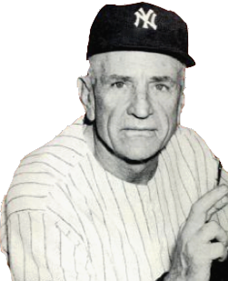 Casey Stengel American baseball player and coach