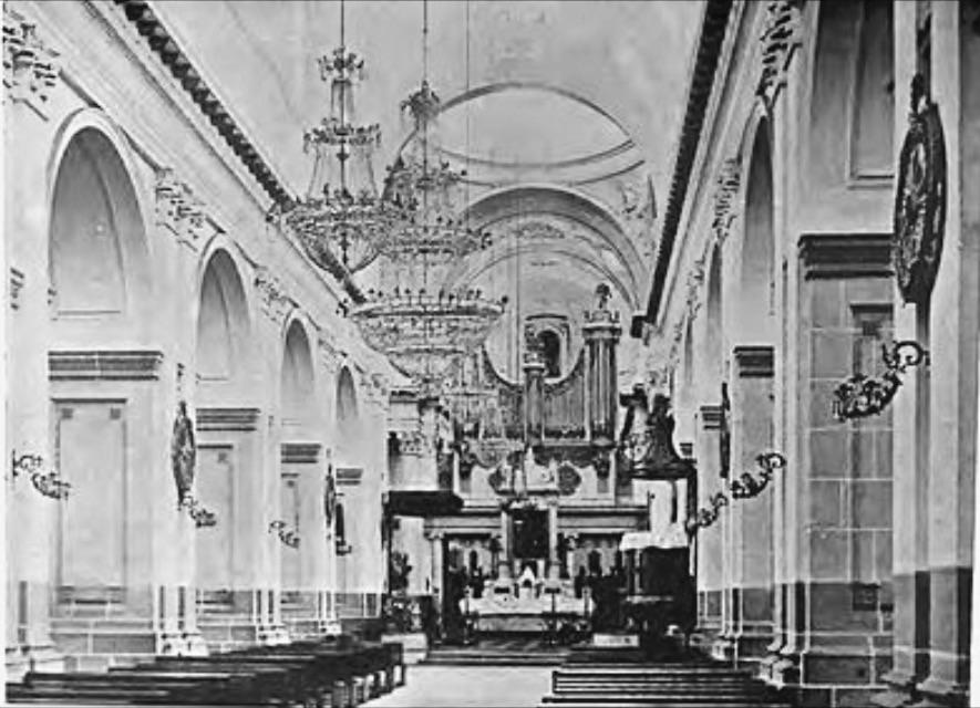 Catedral Metropolitana en 1896