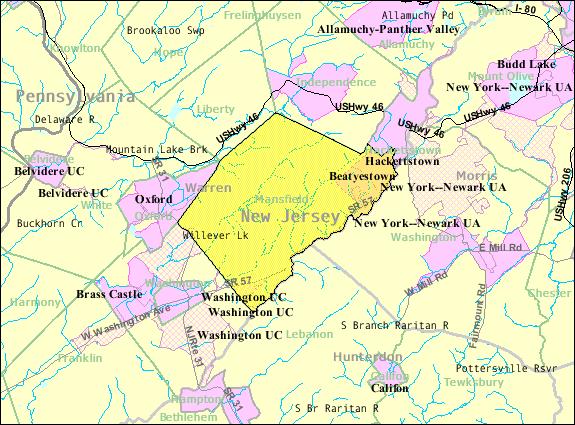 File Census Bureau Map Of Mansfield Township Warren
