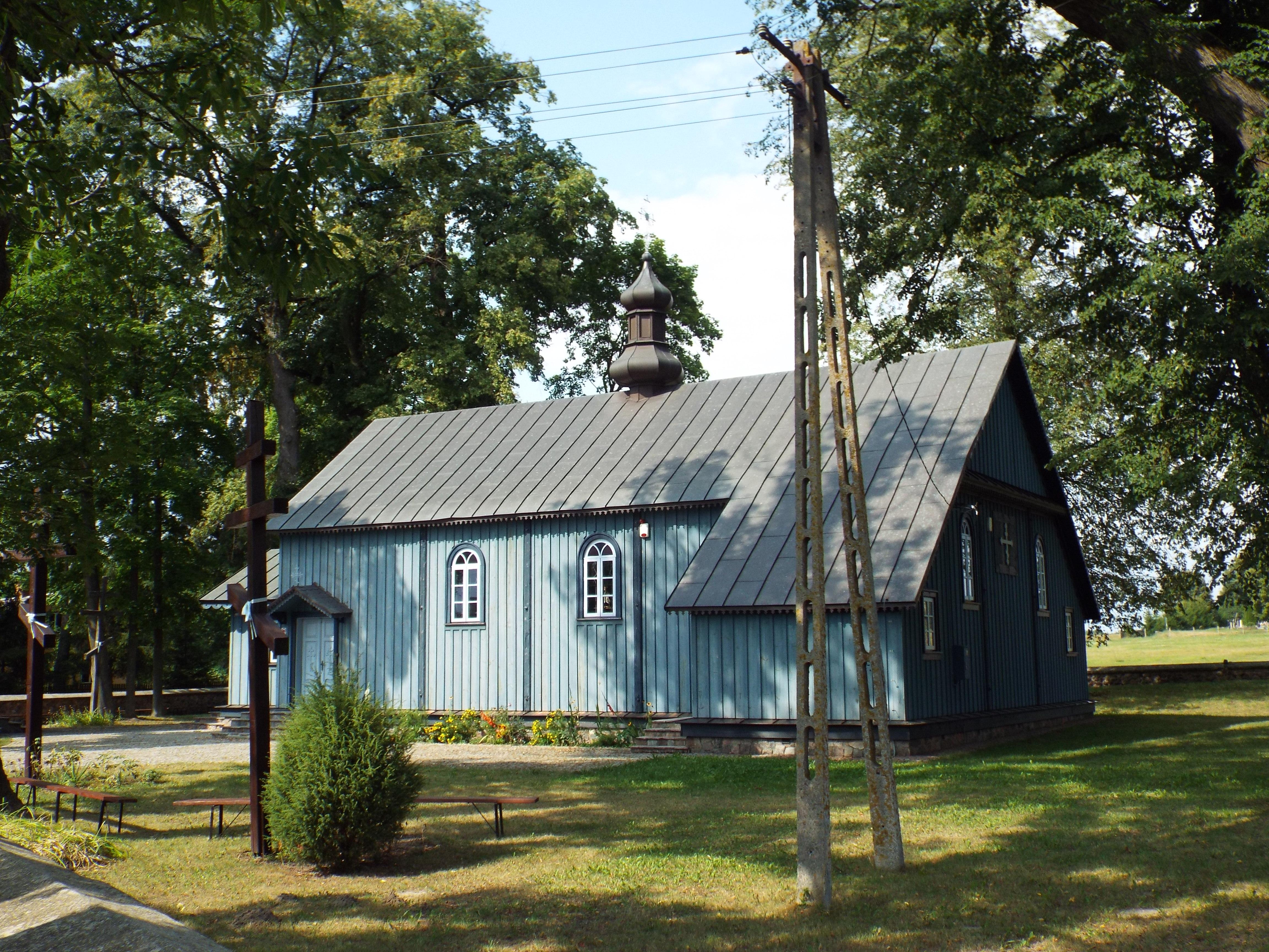 Церква св. Антонія Печерського та св. Параскеви, с. Голя. Фото І. Парнікози, 2019 р.