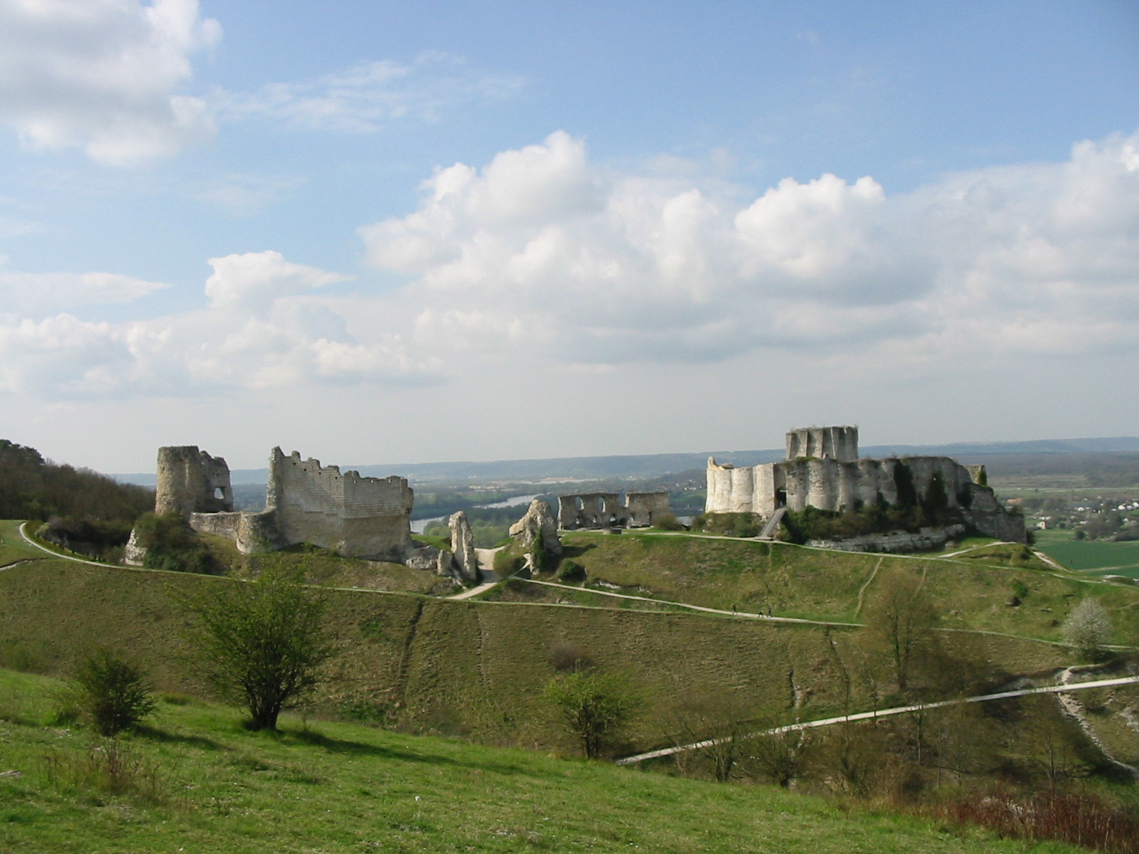 Gaillard France  City new picture : Chateau gaillard France, Normandy Wikimedia Commons