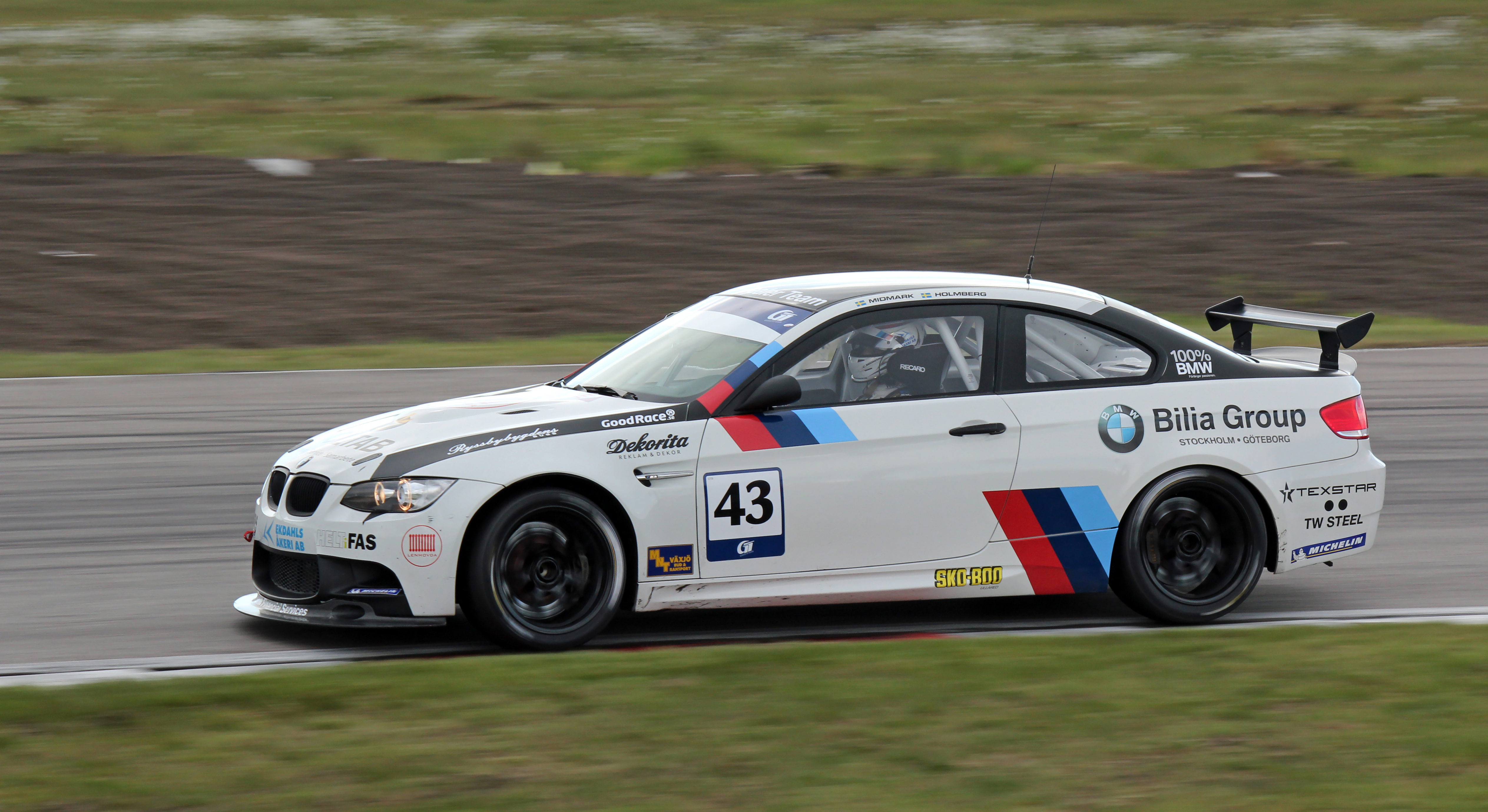 File Chris Midmark Bmw M3 Gt4 Swedish Gt Anderstorp 2012