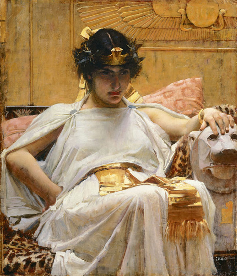 Cleopatra VII Cleopatra_-_John_William_Waterhouse