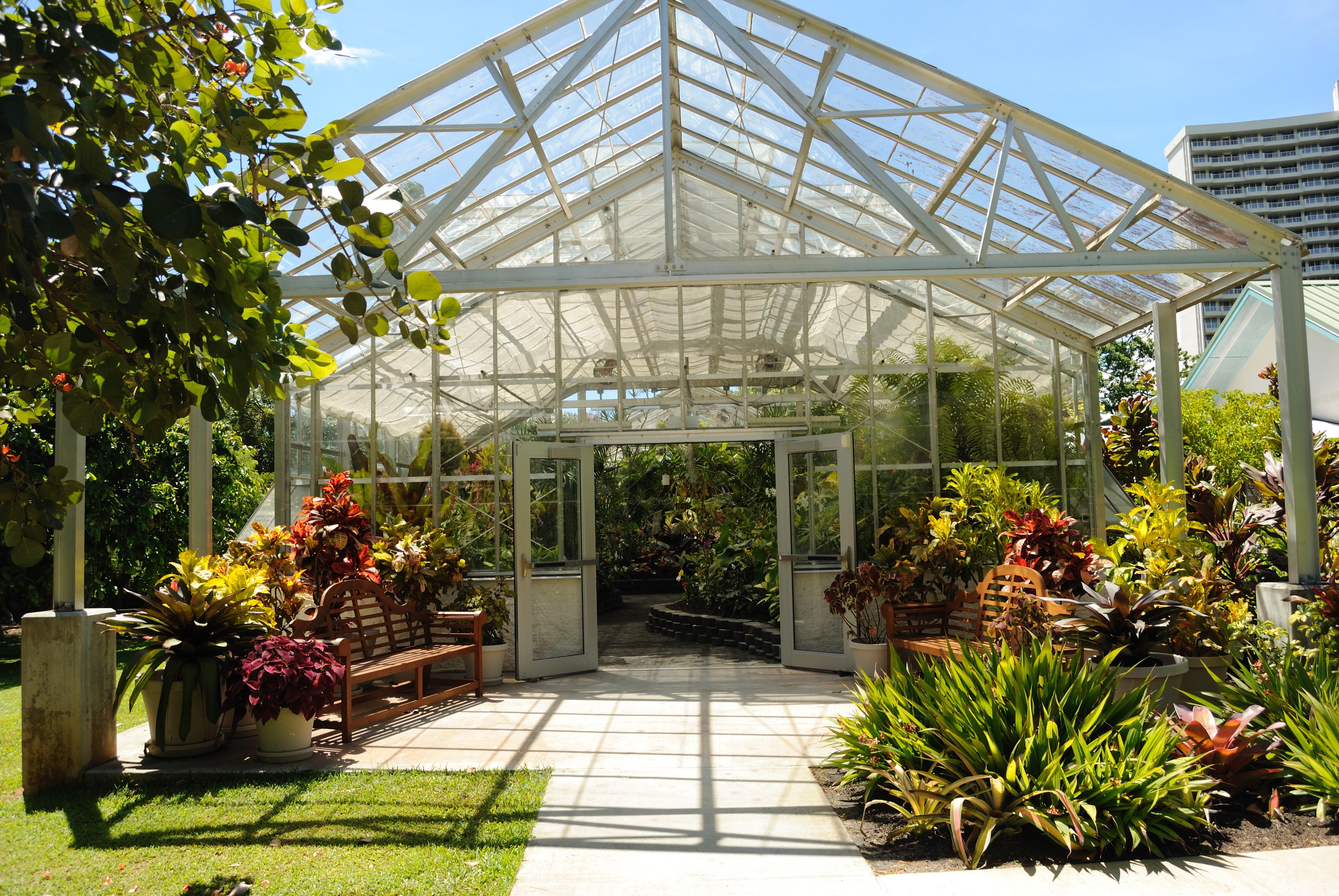 Attrayant File:Conservatory @ Foster Botanical Garden (4719366817)