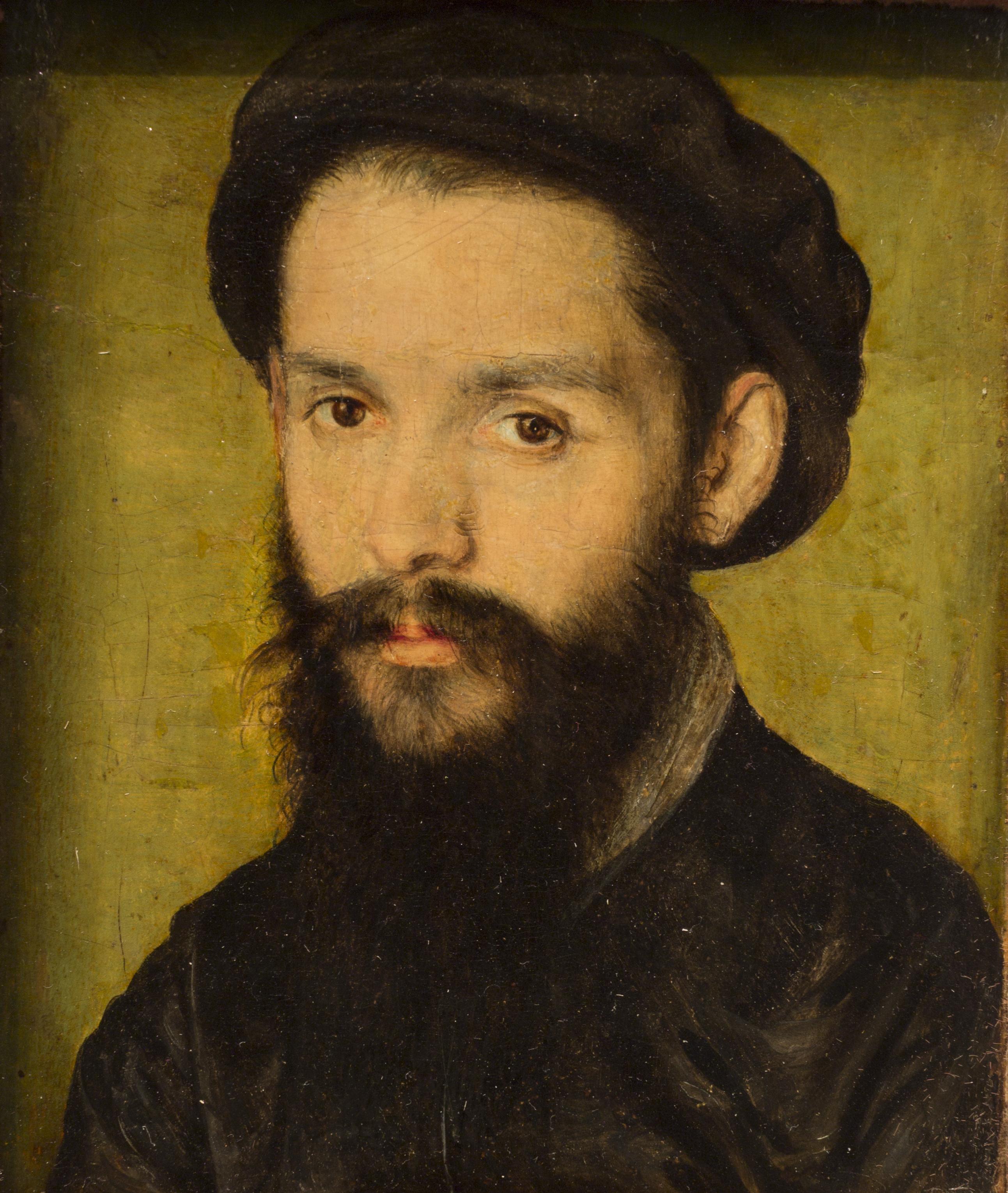 File:Corneille de Lyon - Portrait présumé de Clément Marot ...