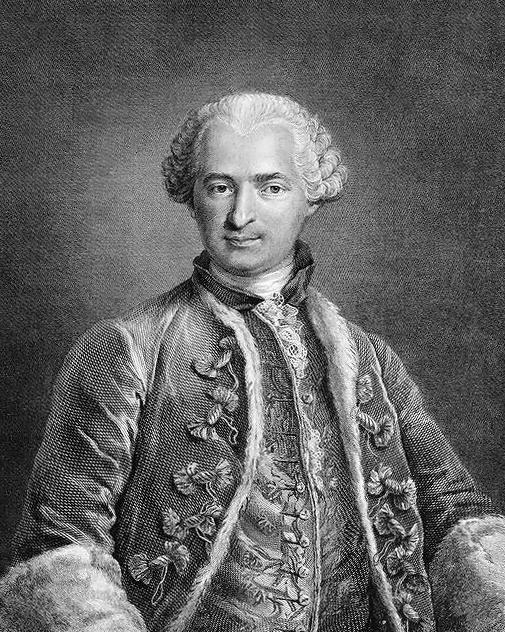Depiction of Conde de Saint Germain