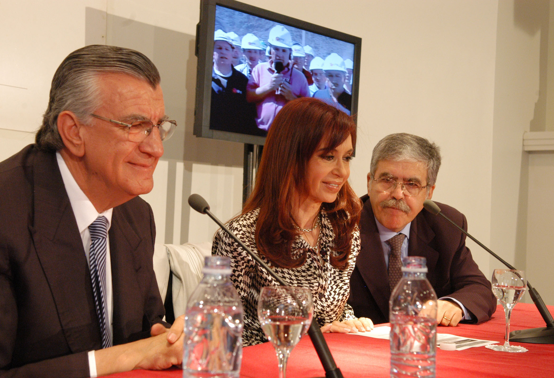 De Vido y Cristina Kirchner