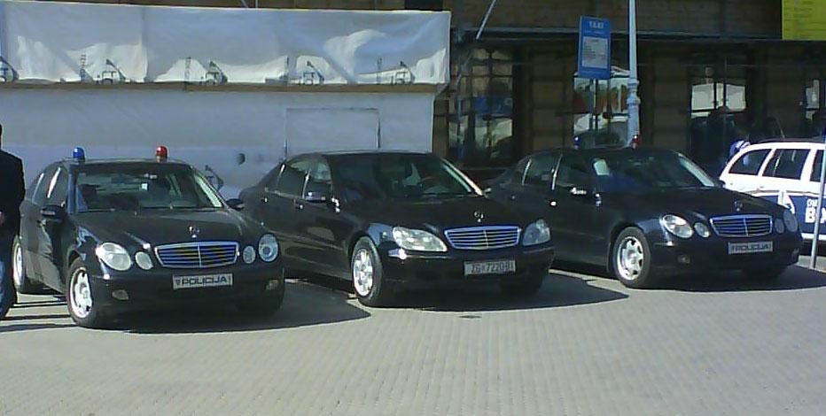 Teen girls in Mercedes