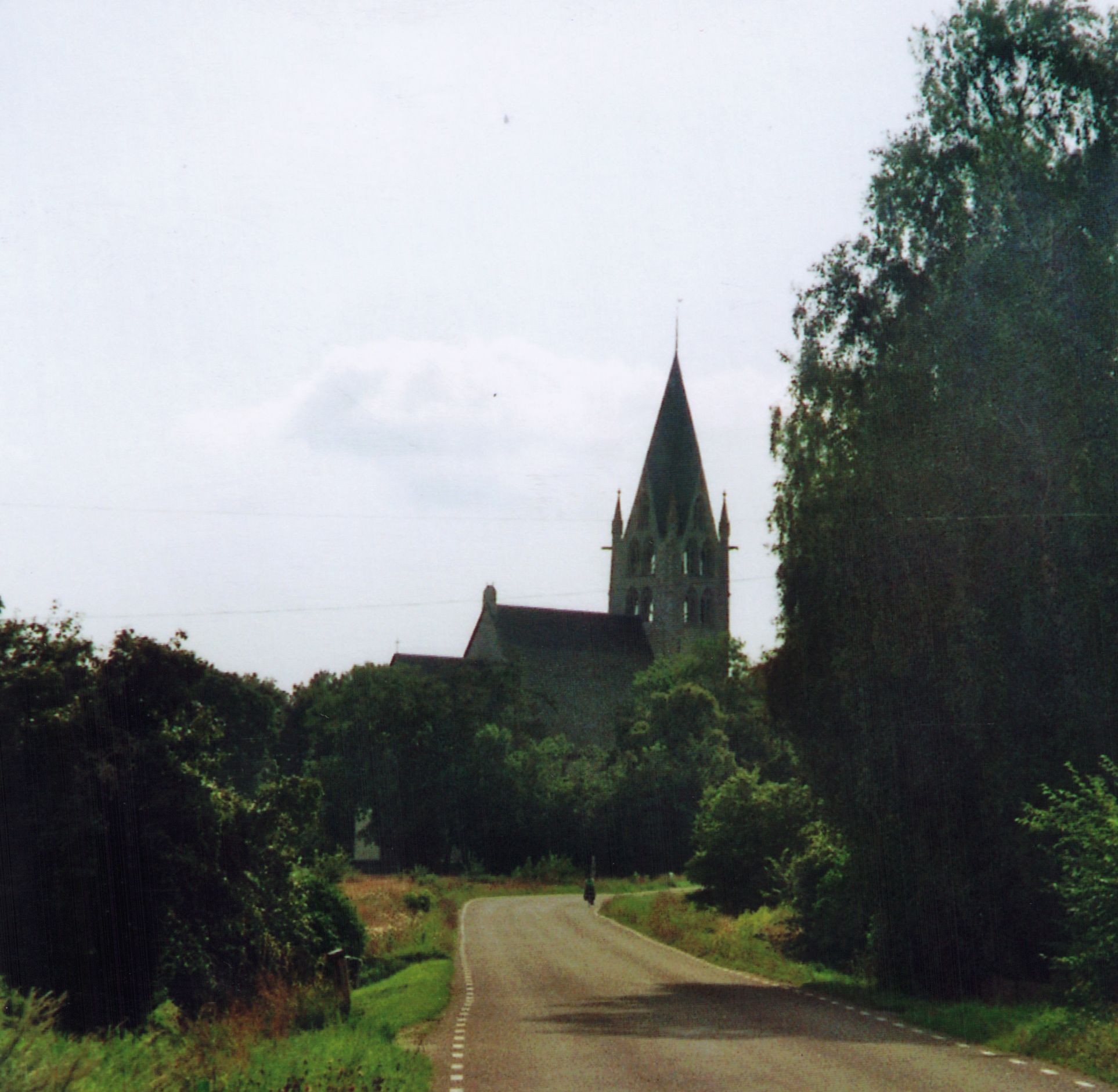 Bild av Dalhems kyrka