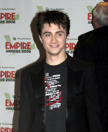 Daniel Radcliffe at Empire Awards 2006
