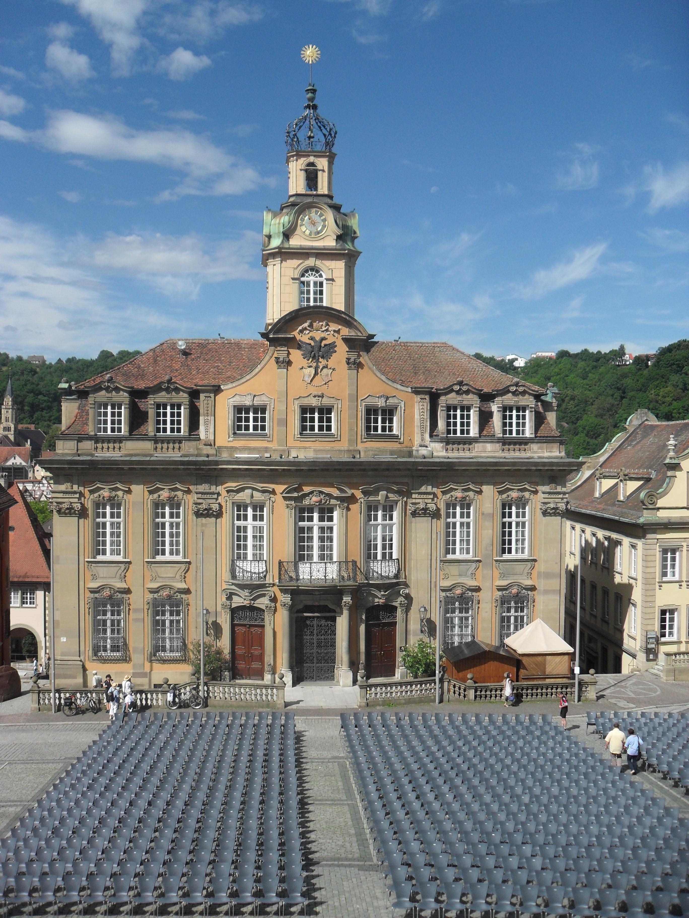 Datei das barocke rathaus von 1735 schw bisch wikipedia - Gunst mobelhaus schwabisch hall ...