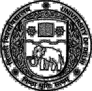 Logo of University of Delhi