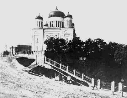Ucrania mapa - Iglesia de los Diezmos