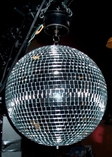 Disco ball close up. Taken by Dr Haggis on 18S...
