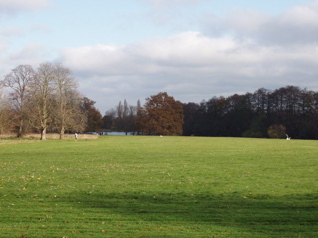 Dog walking area, Osterley Park - geograph.org.uk - 621467