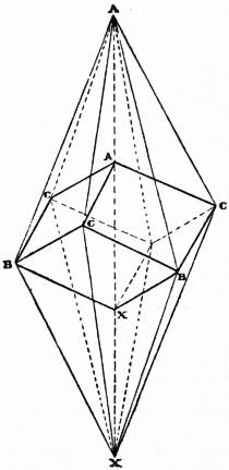 EB1911 Crystallography Fig. 69.—Scalenohedron with inscribed Rhombohedron.jpg