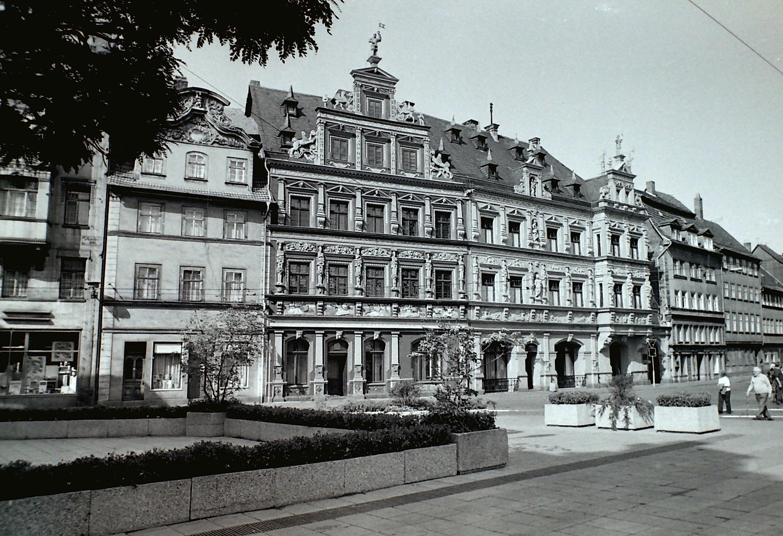Erfurt Fischmarkt Haus Zum Breiten Herd