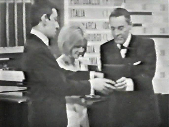 Fichier:Eurovision Song Contest 1965 - Serge Gainsbourg, France Gall & Mario del Monaco.jpg