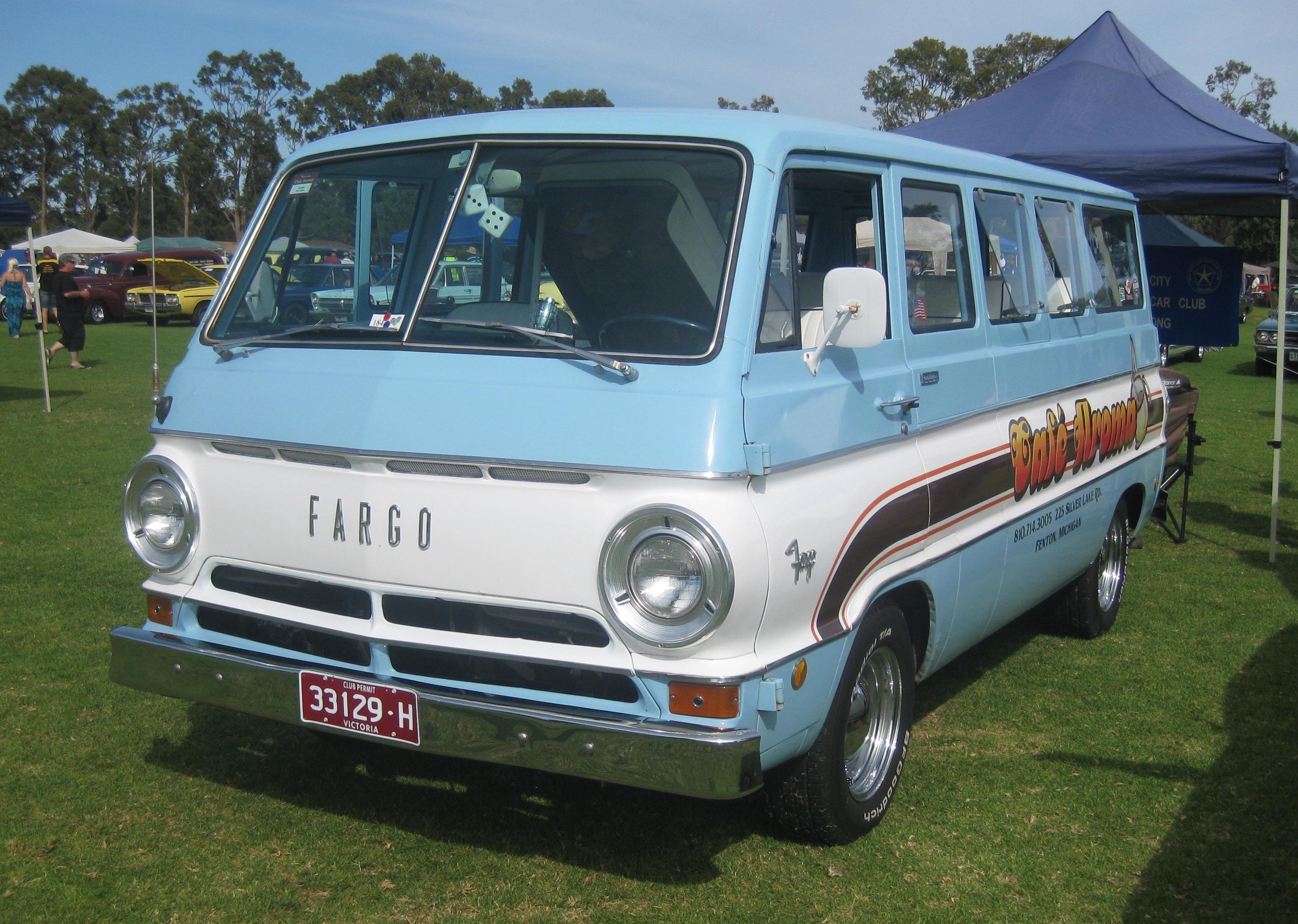 Dodge Work Van >> File:Fargo Van.JPG - Wikipedia