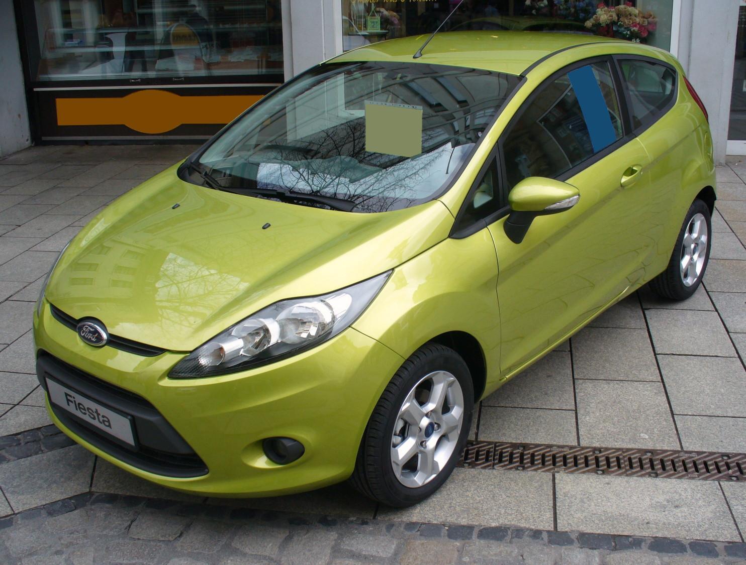 Lime Green Car Park Telford
