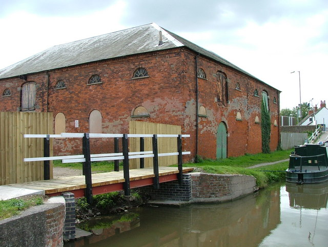 Former salt warehouse - Shardlow - geograph.org.uk - 598771