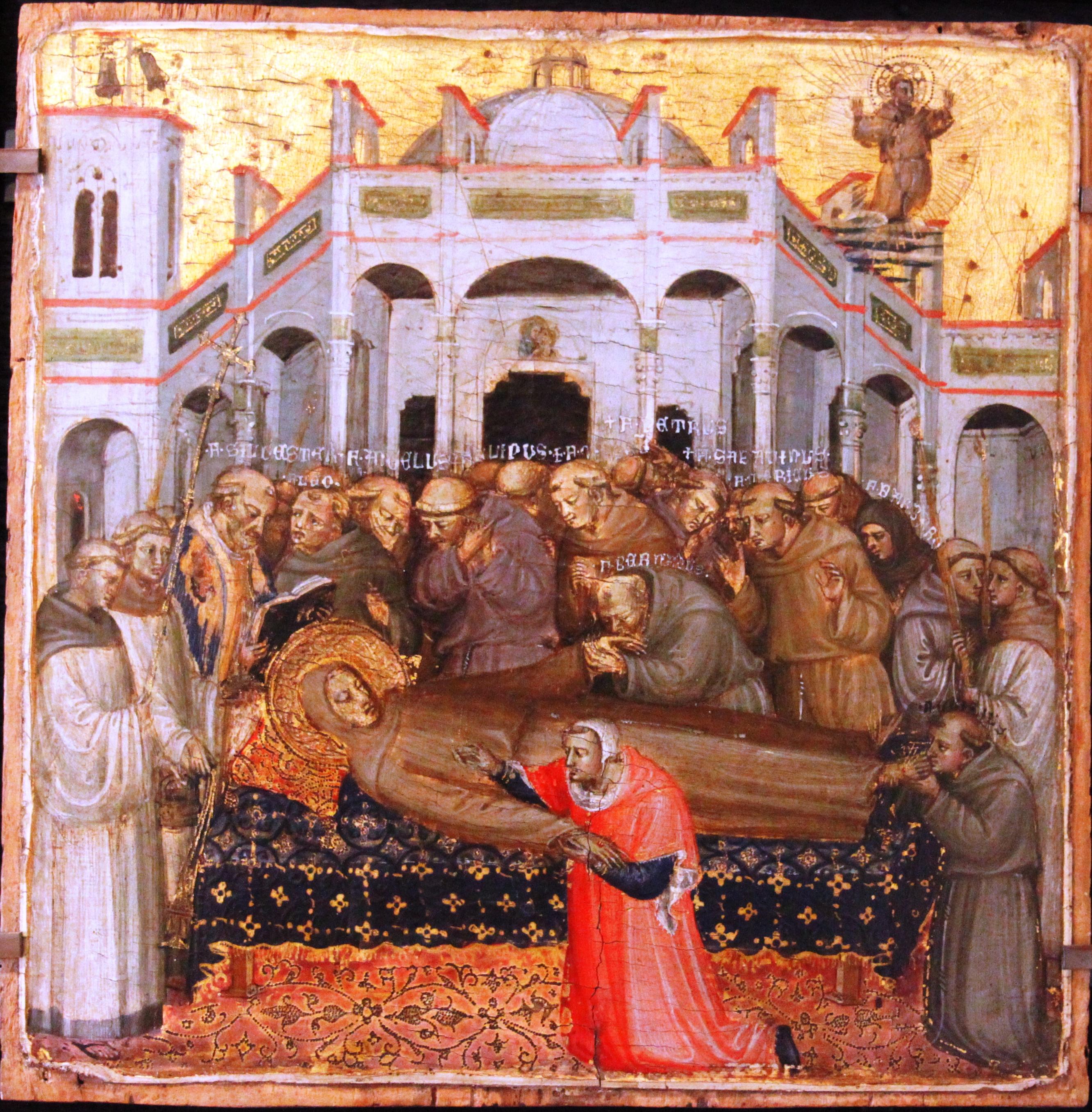 File:Funerali di san Francesco (Bicci di Lorenzo, 1373-1452, Musée