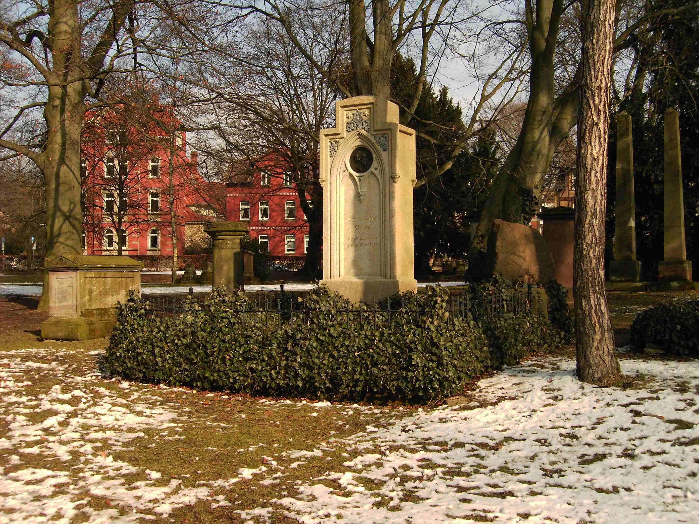 Gravesite of Carl Friedrich Gauss
