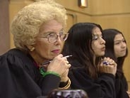 Gladys Kessler listens to students.jpg
