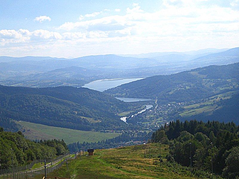 Gora Zar Widok Na Jezioro Zywieckie