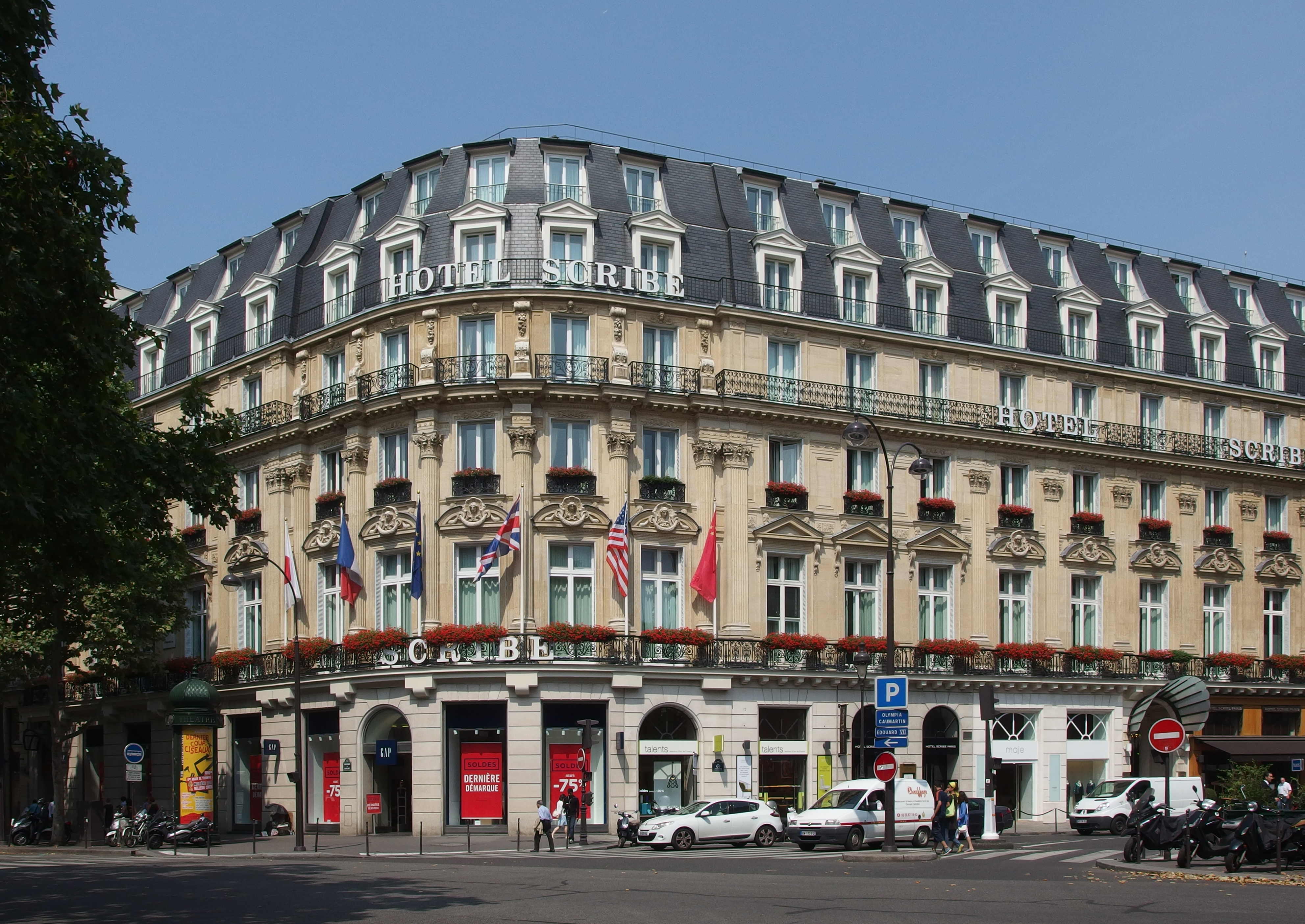 File Hotel Scribe Paris July Wikimedia Commons
