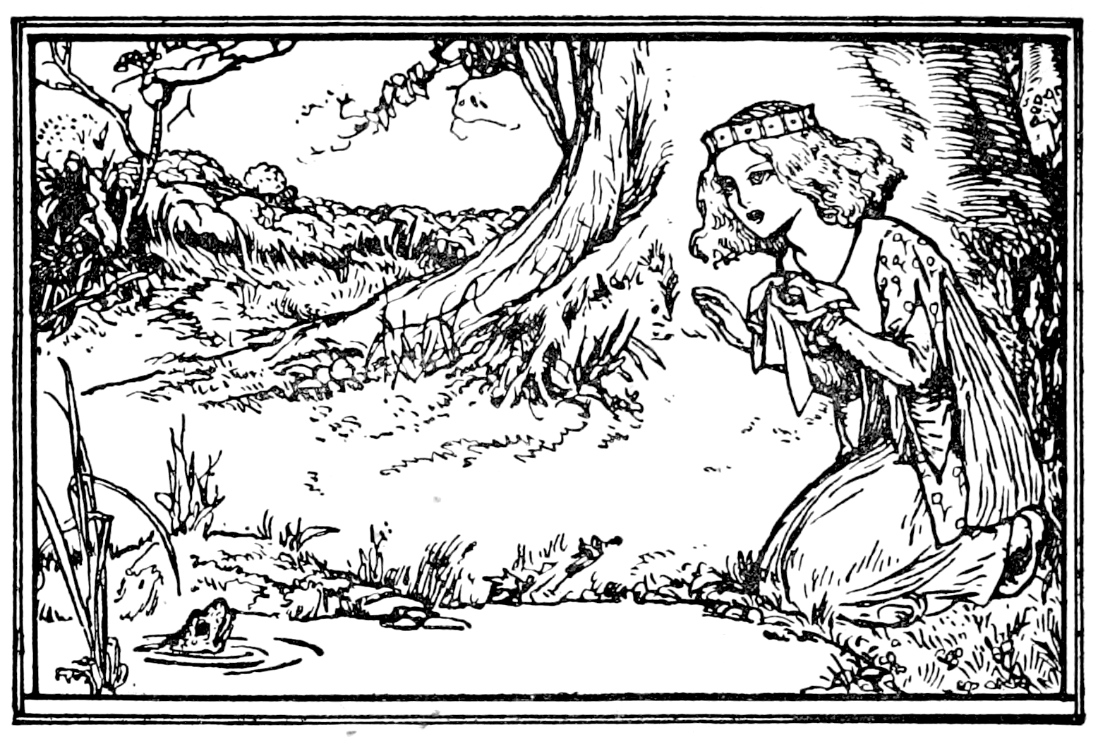 grimm's fairy tales pdf - illustrations
