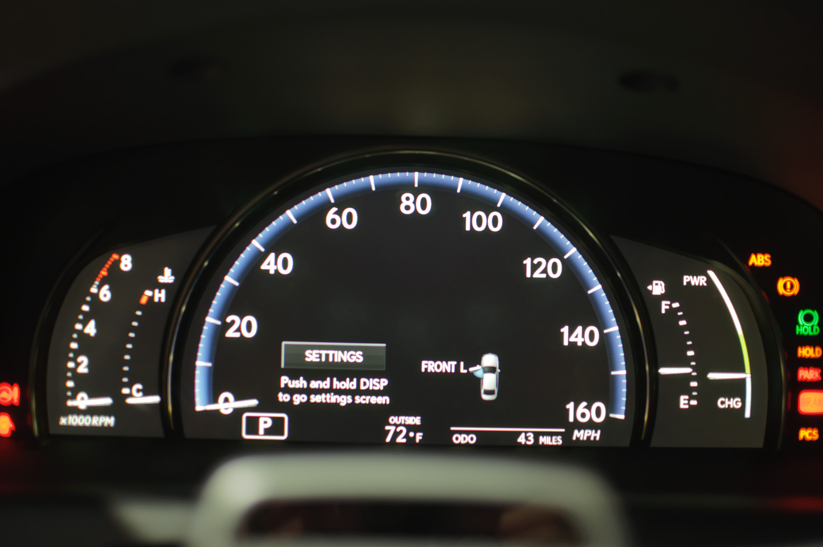 Lexus Car Images >> File:Instrument Cluster, Lexus LS600h L (US) - Flickr - skinnylawyer.jpg - Wikimedia Commons