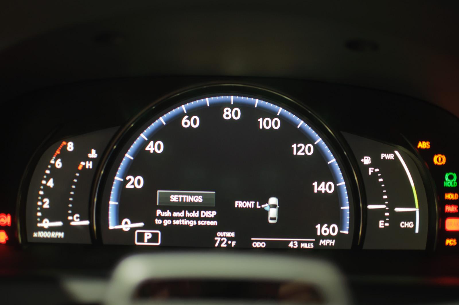 File Instrument Cluster Lexus Ls600h L Us Flickr