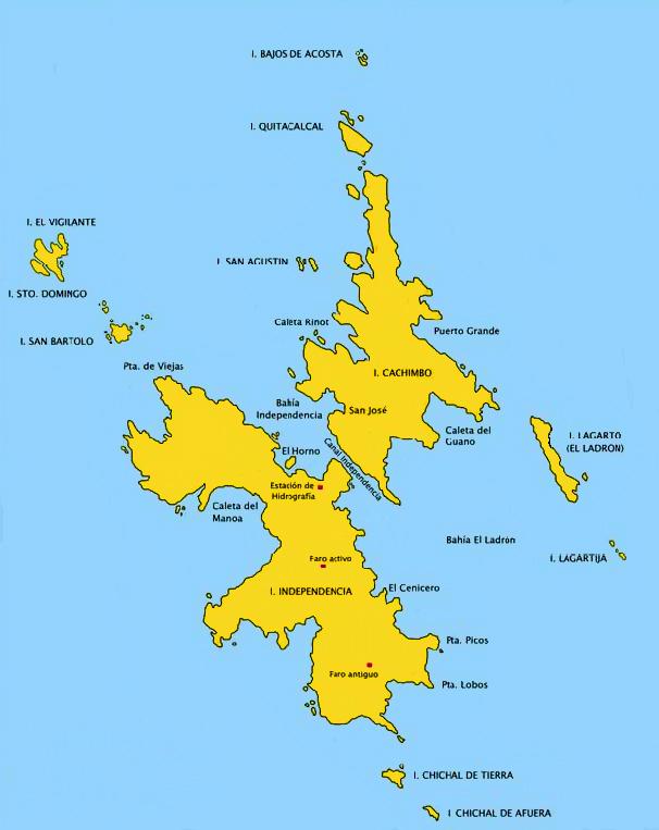 Isla De Lobos Mapa.Islas Lobos De Afuera Wikiwand