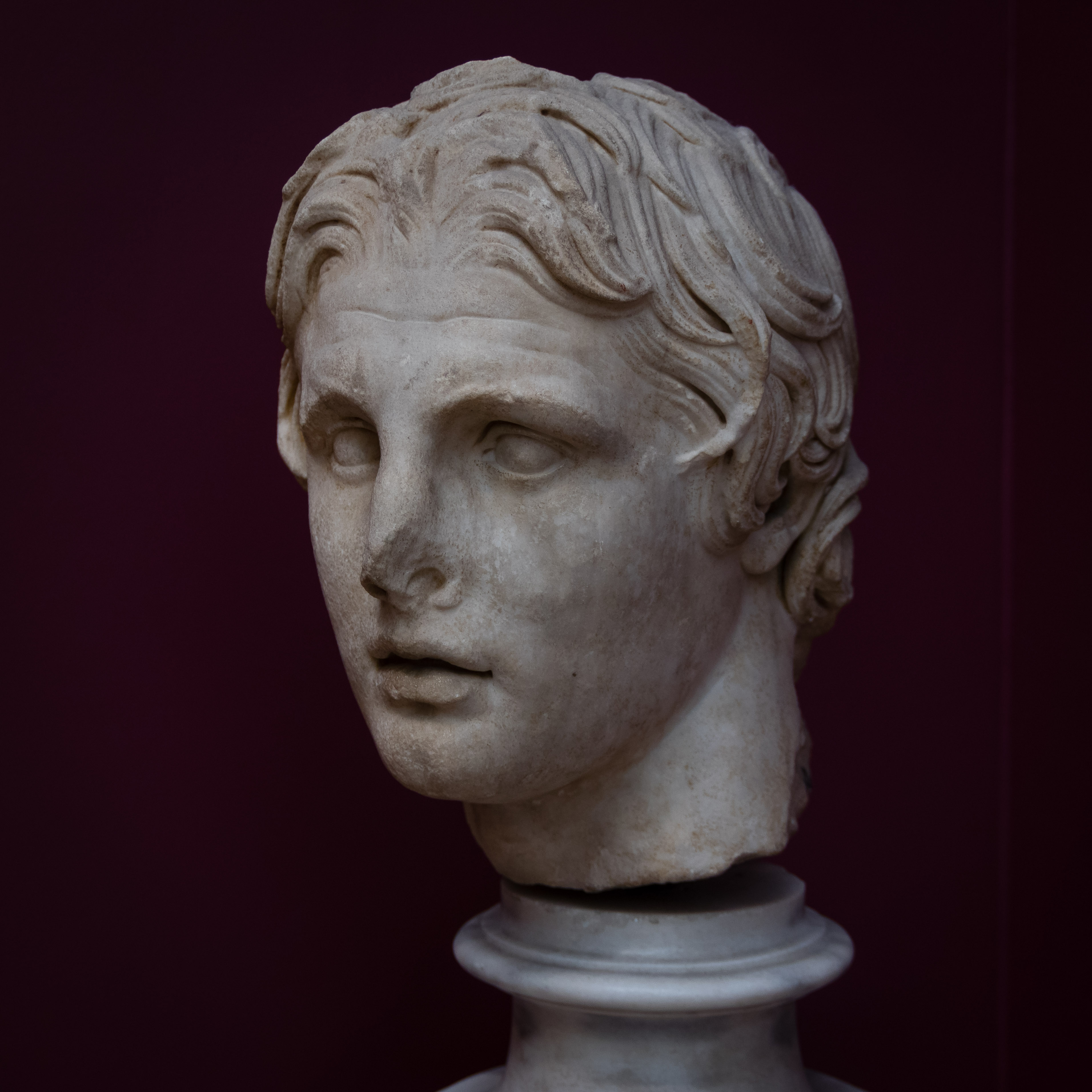 File Istanbul Archaeology Museums  Head Of Alexander The