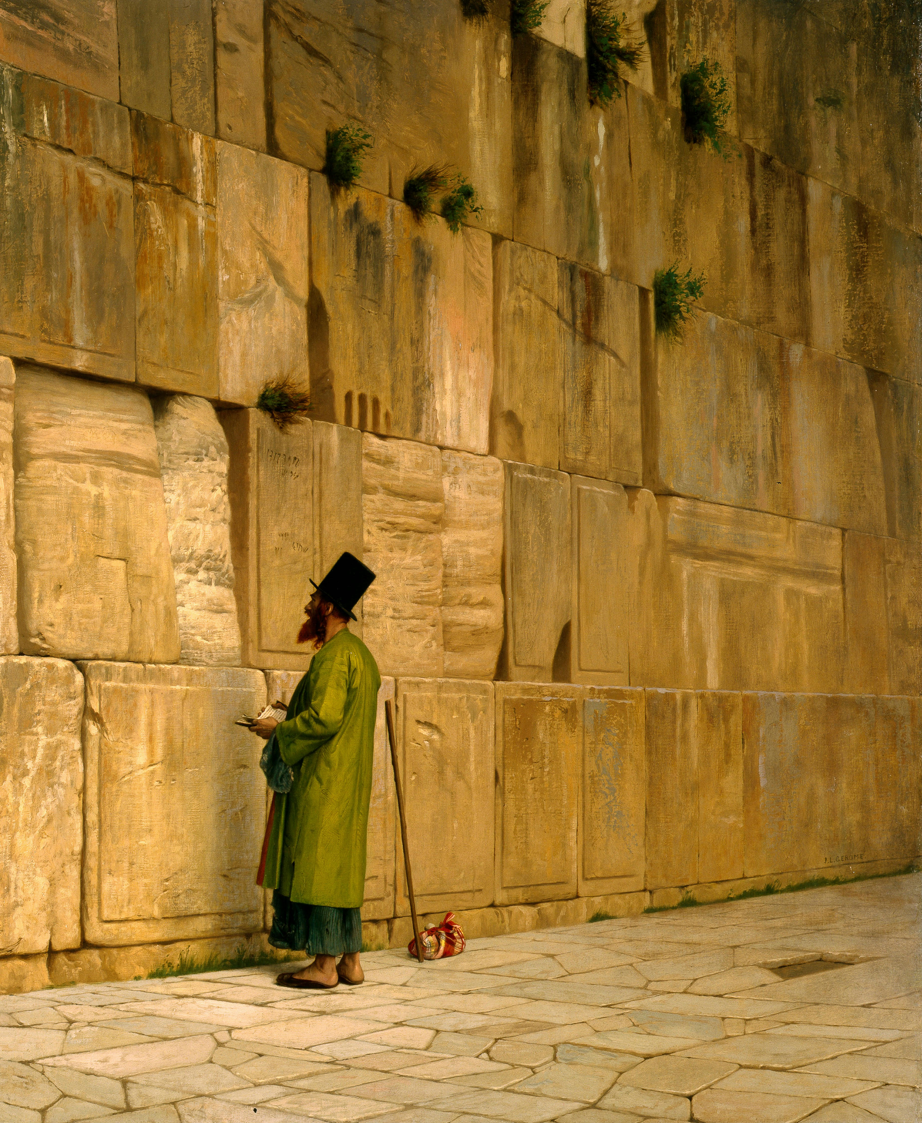 file j l gerome   the wailing wall   google art project