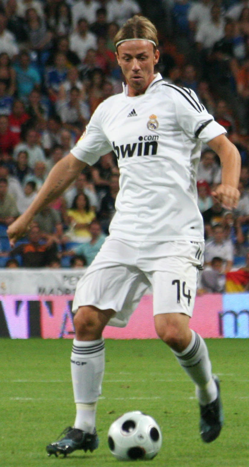 Guti in action for [[Real Madrid CF|Real Madrid]] in 2008
