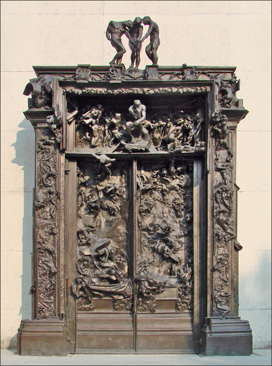 File la porte de lenfer mus e rodin 4527142315 jpg wikimedia commons - La porte de l enfer rodin ...