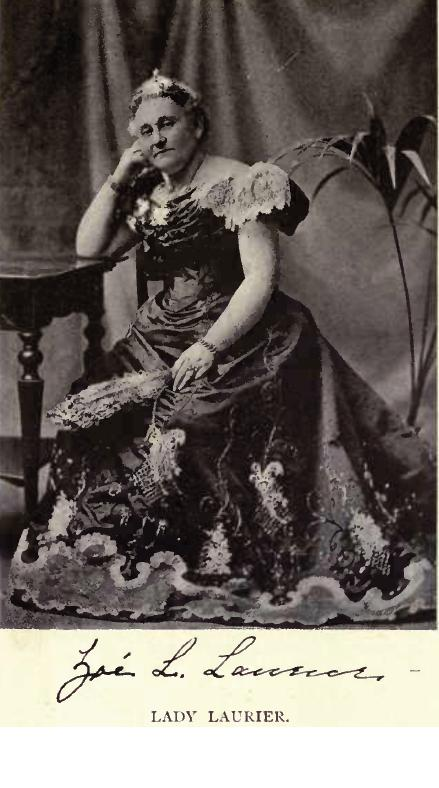 Lady Zoe Laurier by William James Topley Lady Laurier photo by William James Topley.jpg
