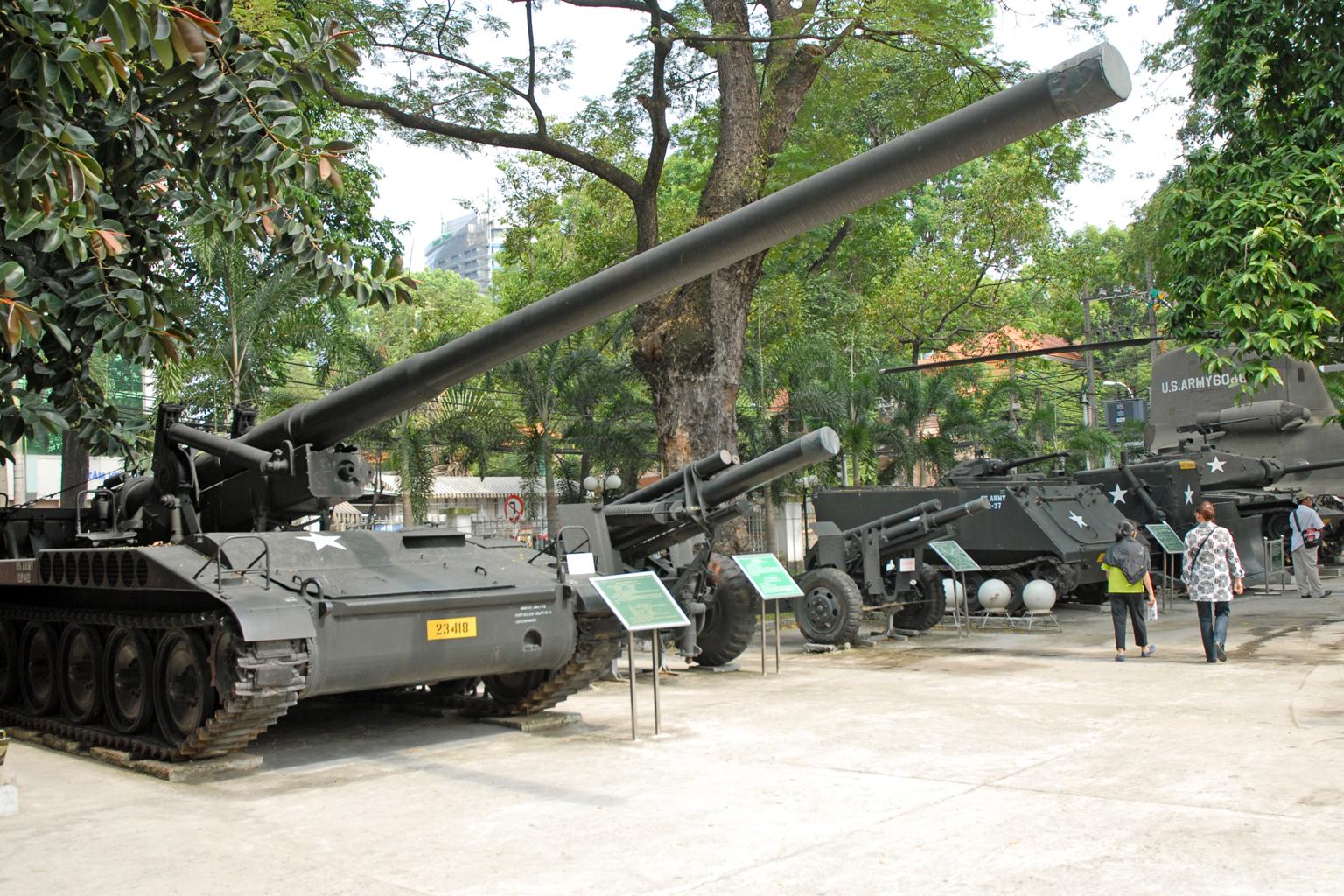 Le musée des Souvenirs de guerre (Hô Chi Minh Ville).jpg