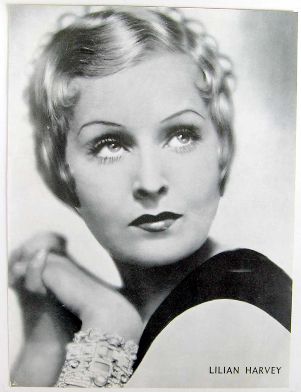 Depiction of Lilian Harvey