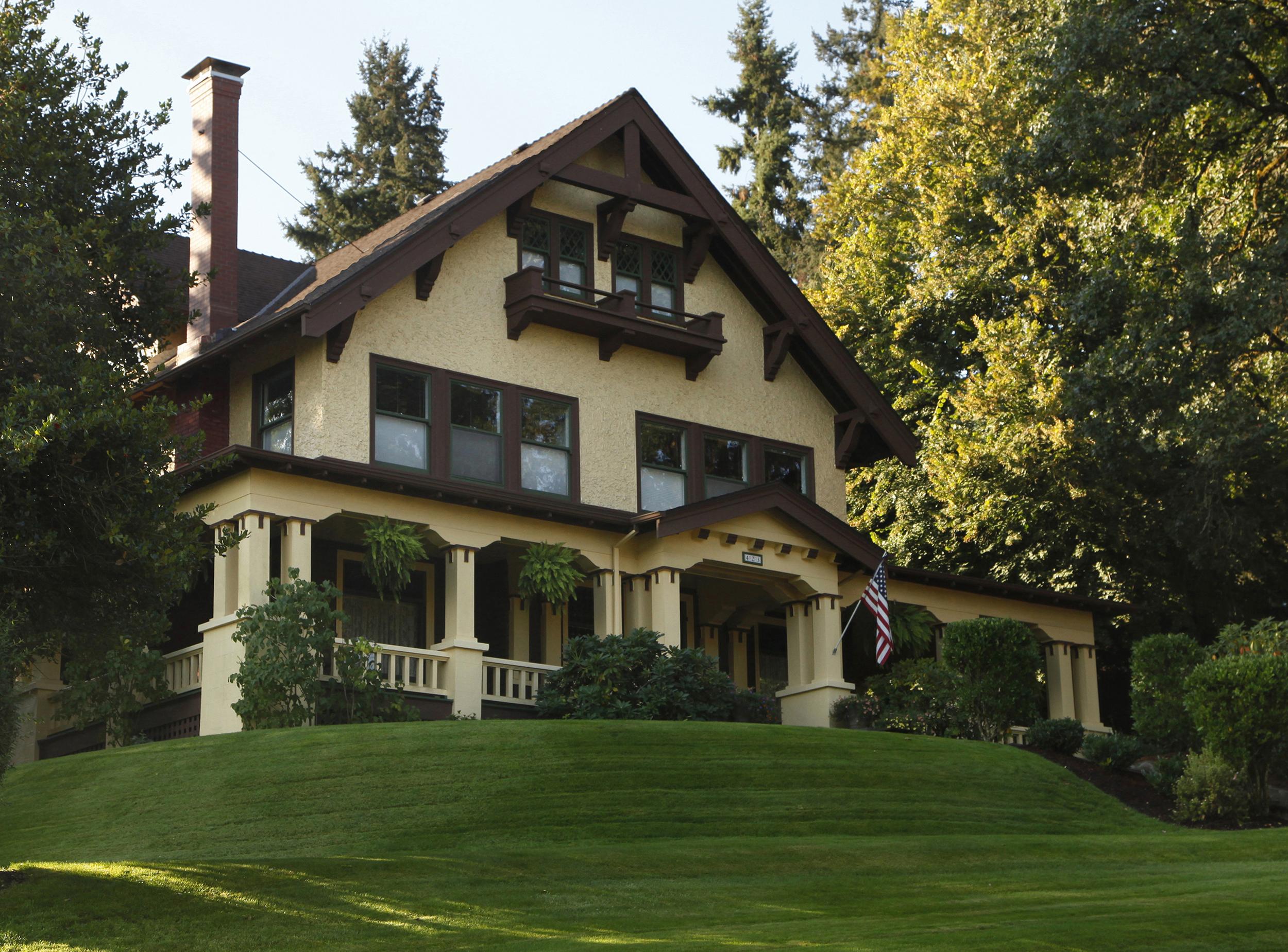File Louis J Adams House Silverton Oregon