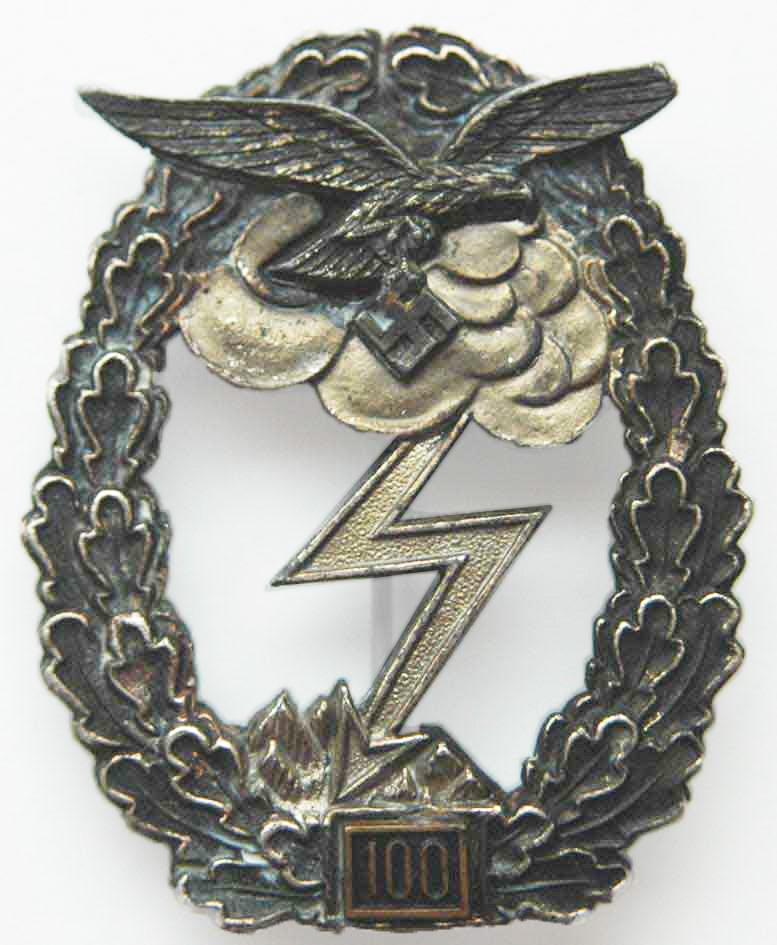 Ground Assault Badge Of The Luftwaffe Wikipedia