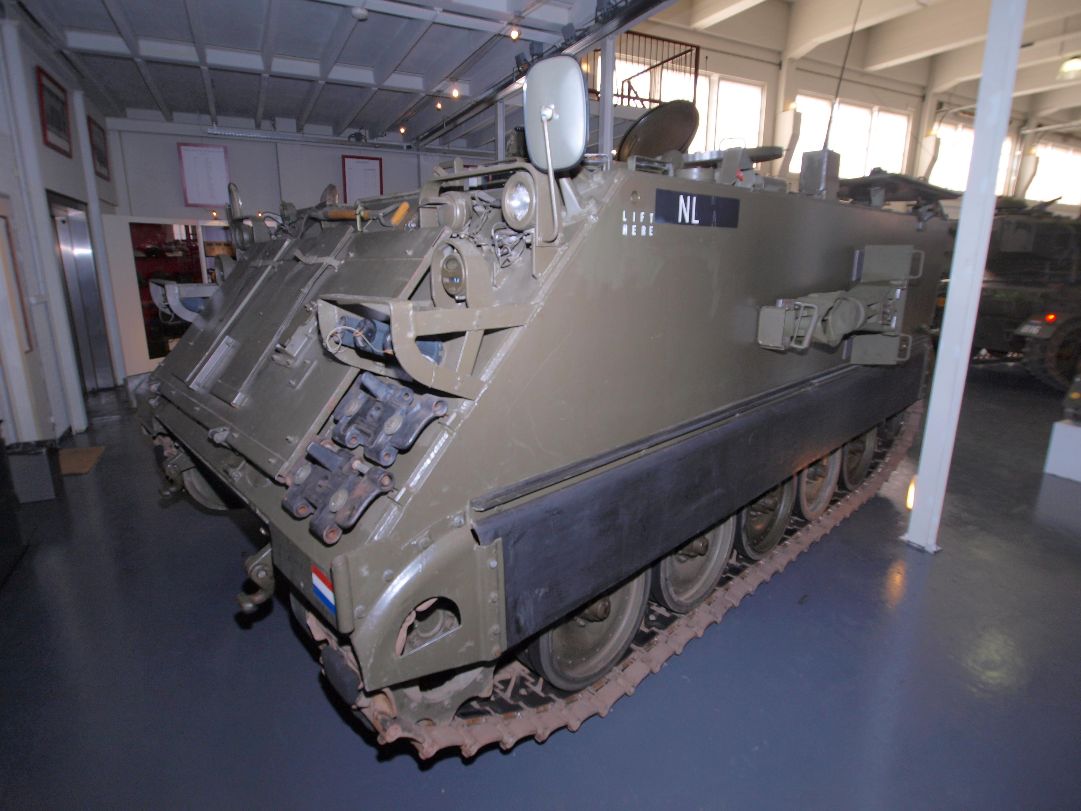 Military Mortar Sizes : File m mortar carrier dutch army ku pic