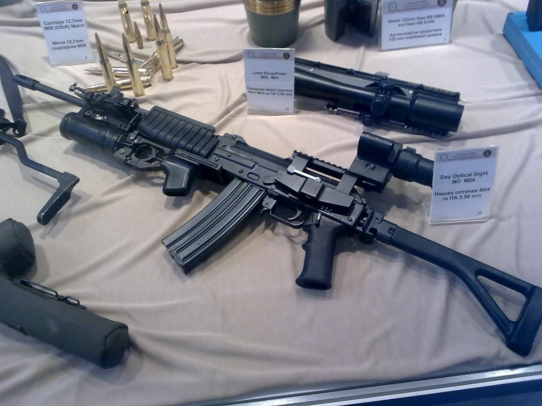 Застава оружје - производи (М70, М72, М77, М92, М21, CZ99, M57...)  M21SRB
