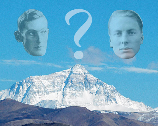 Mallory and Irvine Research Expedition - Wikipedia George Mallory And Andrew Irvine